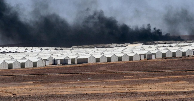 Jordan opens a massive refugee camp for Syrians